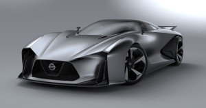 NISSAN CONCEPT 2020 Vision Gran Turismo emerged from styling study among Nissan's global pool of young designers.
