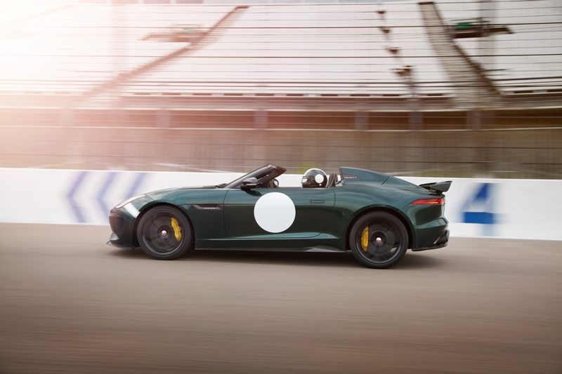 The Jaguar F-TYPE Project 7. (Jaguar)