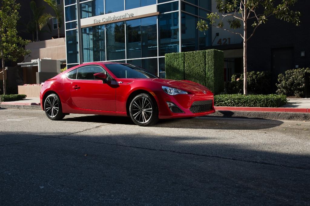 The 2015 Scion FR-S (Toyota)