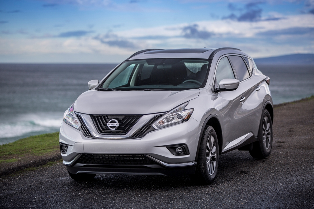 The 2015 Nissan Murano (Nissan)