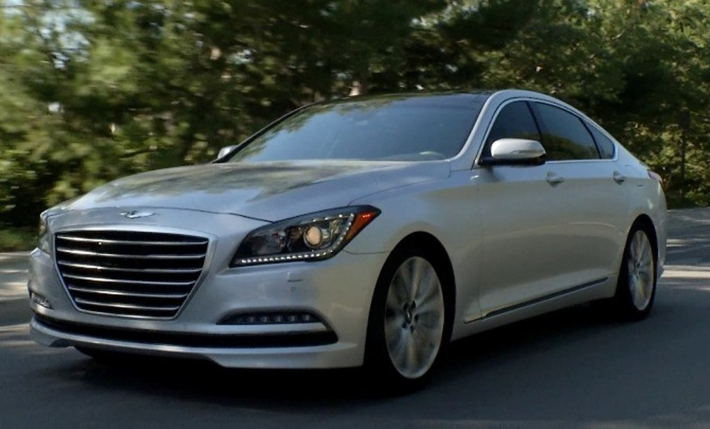 The 2015 Hyundai Genesis 5.0 (Hyundai)