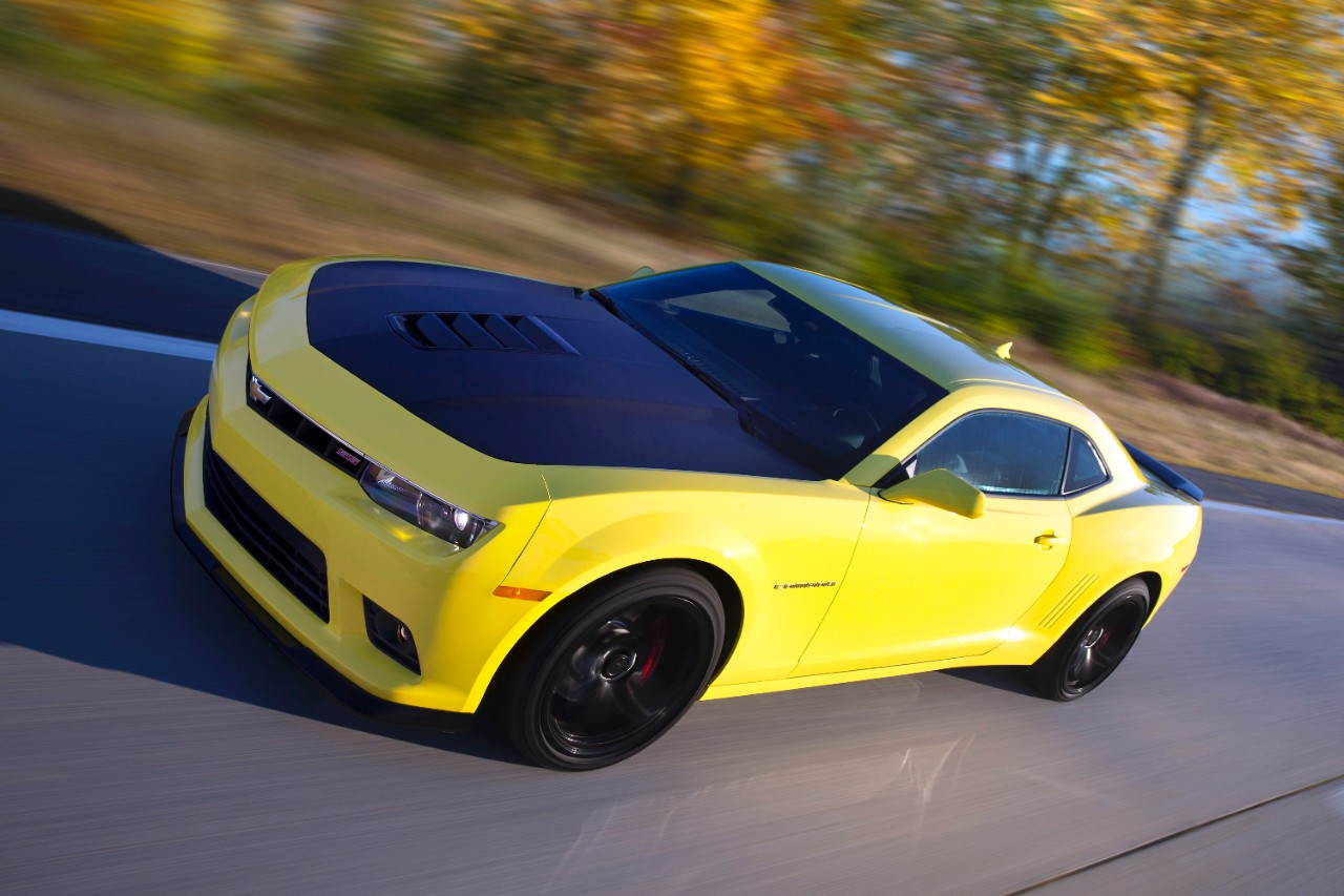 The 2015 Chevrolet Camaro 2SS (GM)