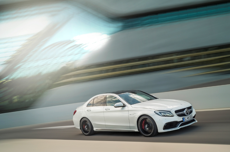 The 2015 Mercedes C63 AMG. (MB)