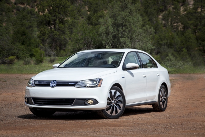 The 2015 VW Jetta SEL Hybrid (VW)