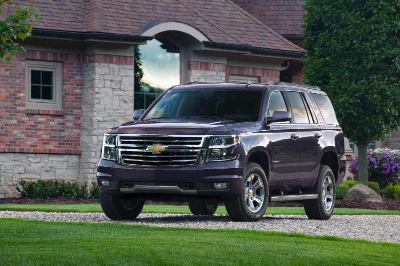 The 2015 Chevy Tahoe (Chevy)
