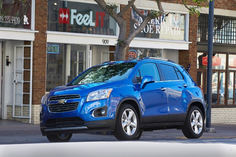 The 2015 Chevy Trax (Chevy)