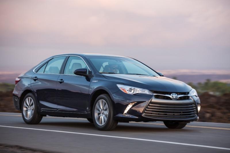 The 2016 Toyota Camry Hybrid