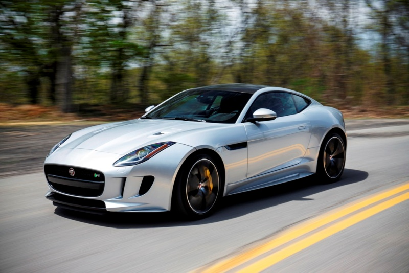 The 2016 Jaguar F-Type R Coupe. (Jaguar)