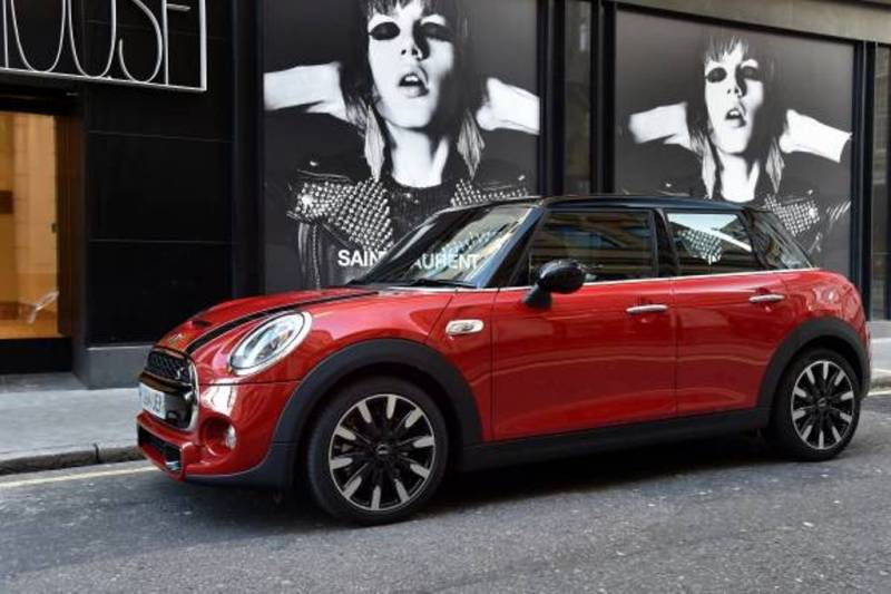 The 2015 Mini Cooper S 4 door (BMW)