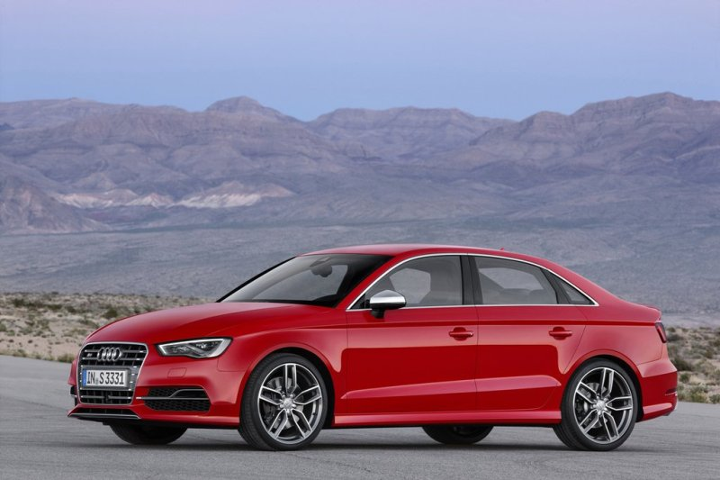 The 2015 Audi S3 (Audi)