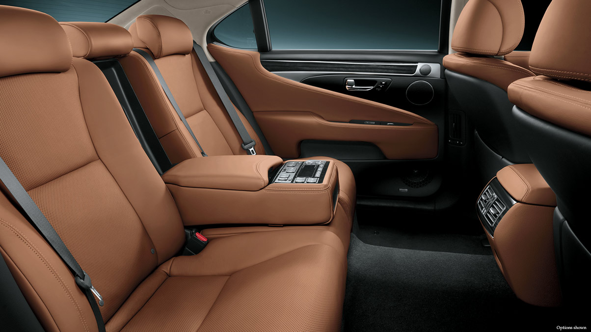 2014 Lexus LS Interior Leather Rear Seats Overlay 1204×677 L46798 Awesome Design