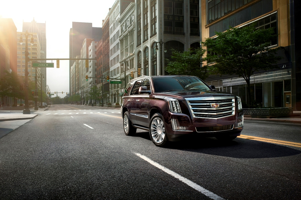 The 2016 Cadillac Escalade (GM)
