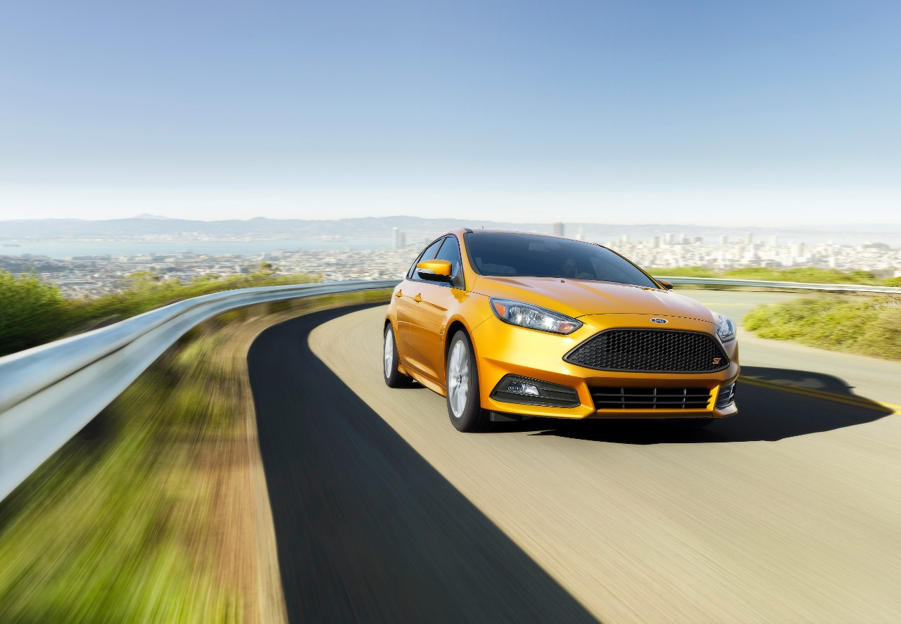 The 2015 Ford Focus ST  (Ford)