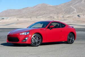 The 2016 Scion FR-S (Toyota)