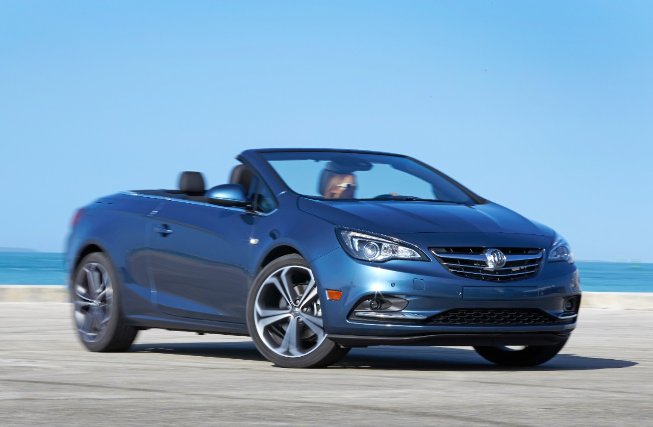 The 2016 Buick Cascada  (GM)