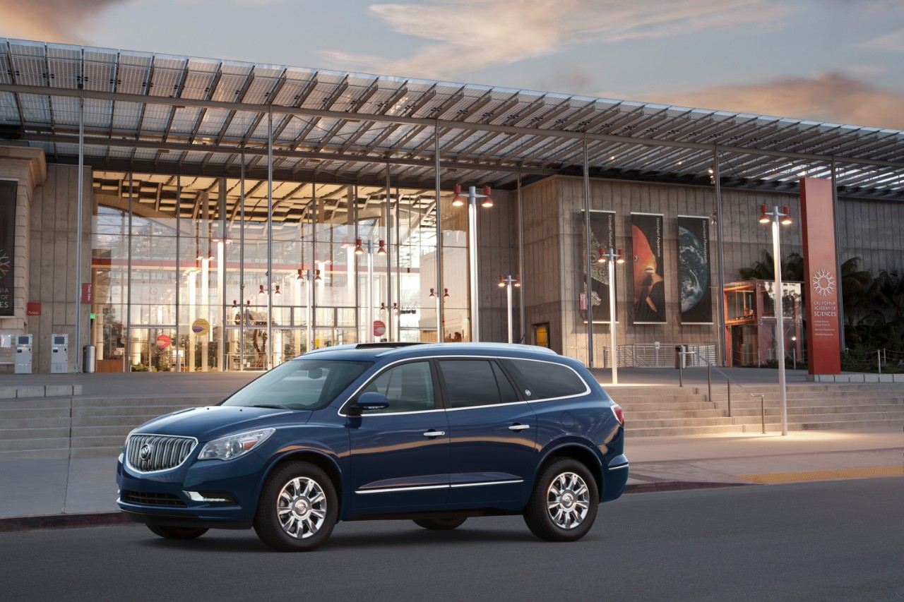 The 2016 Buick Enclave (GM)