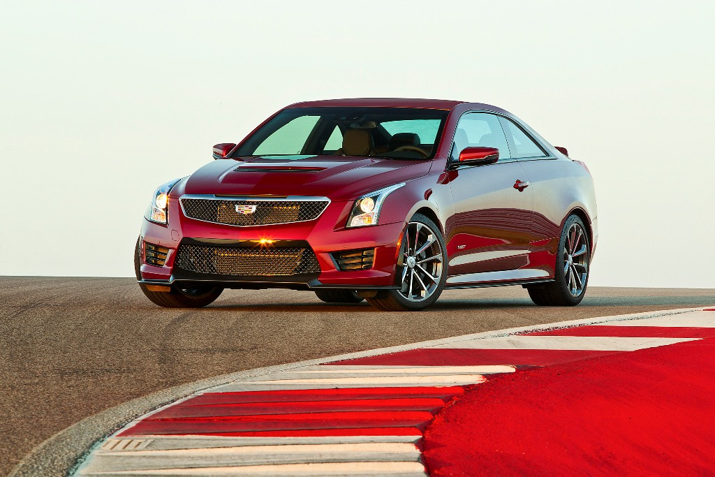 The 2016 Cadillac ATS-V Coupe