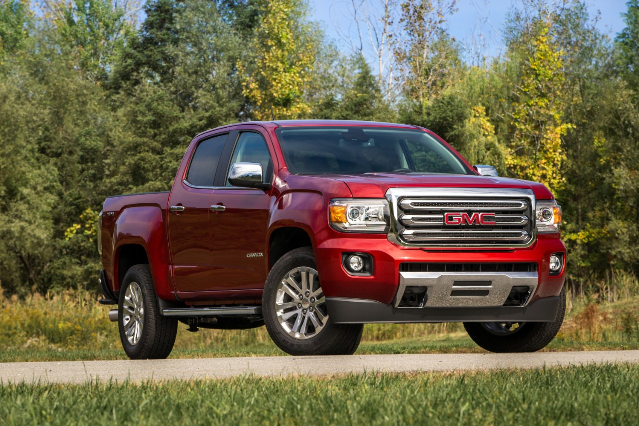The 2016 GMC Canyon