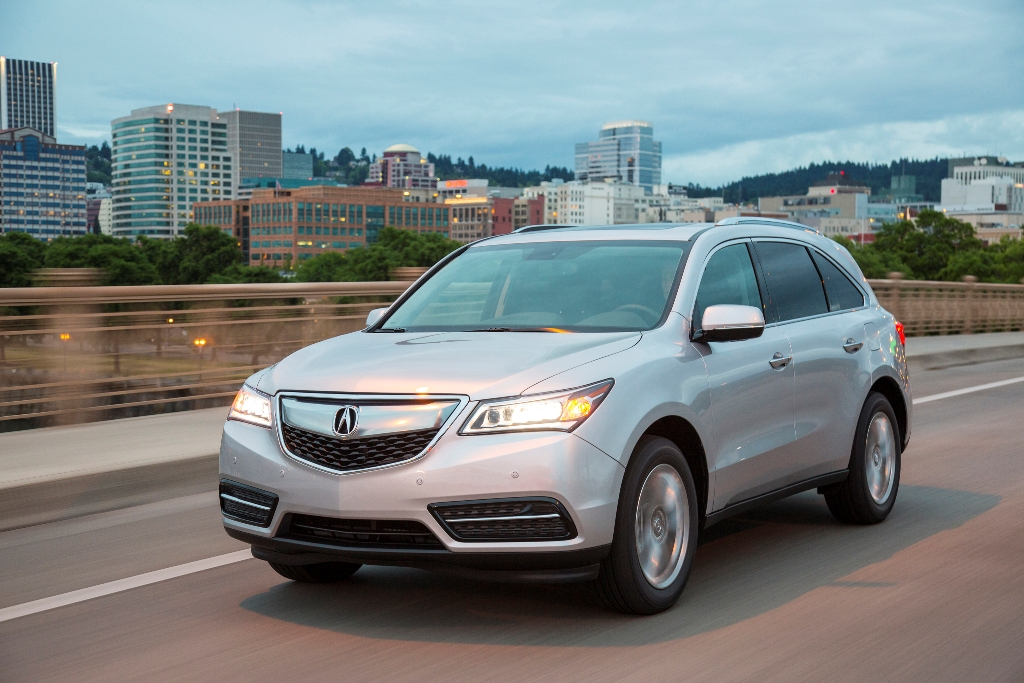 The 2016 Acura MDX (Honda)