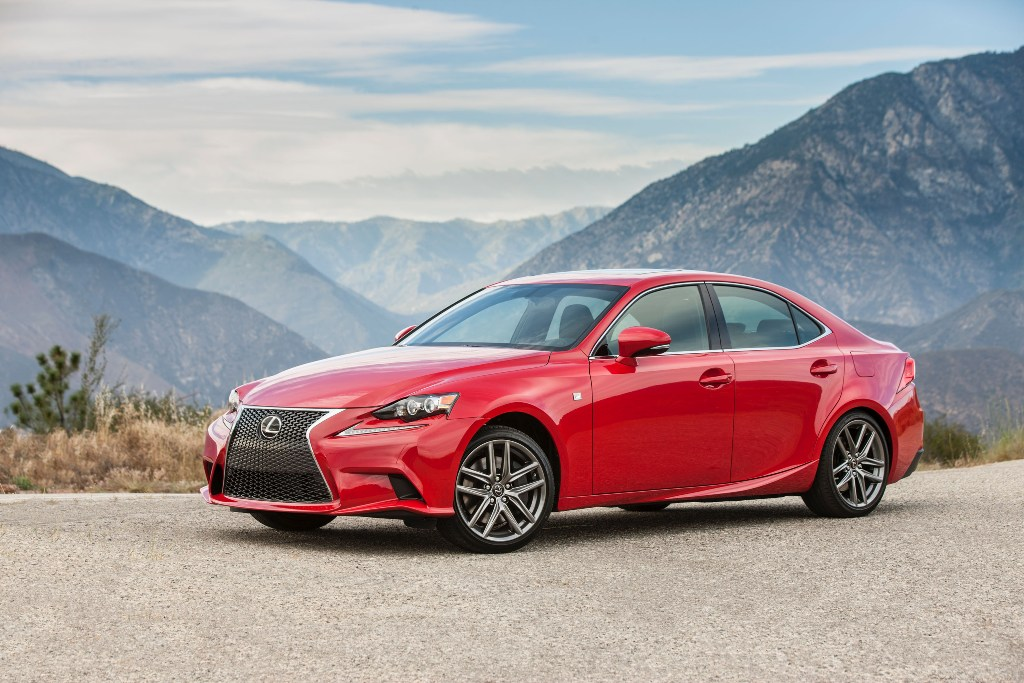 The 2016 Lexus IS200t (Lexus)