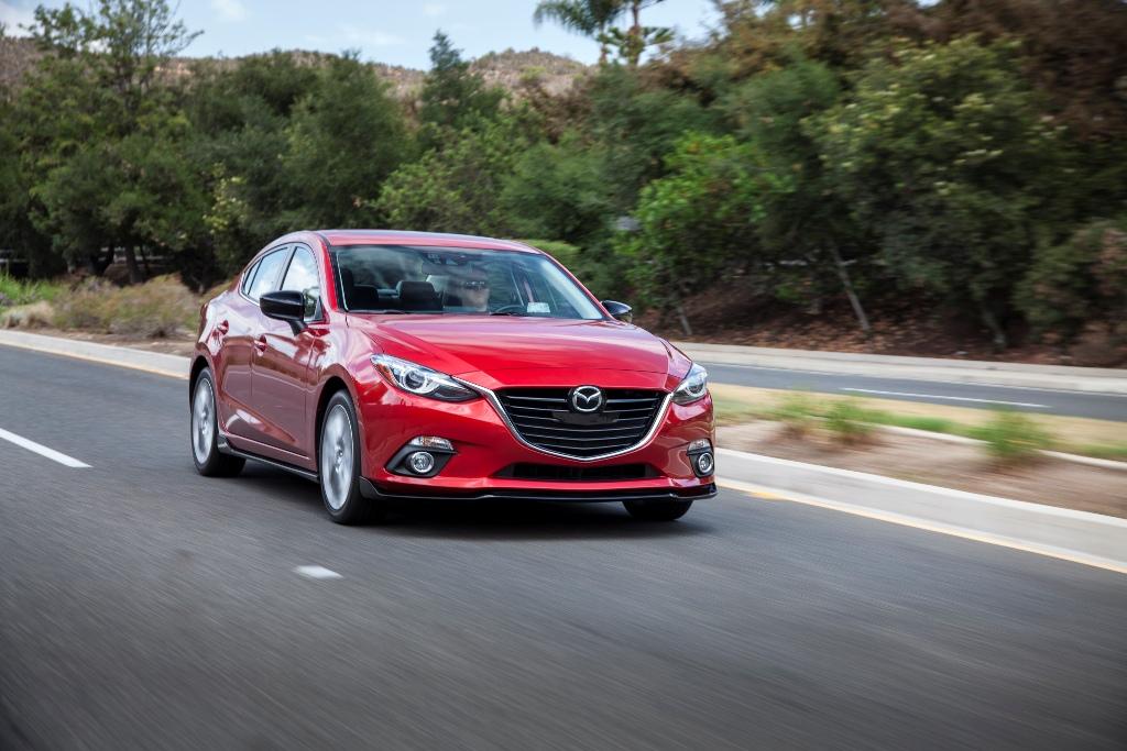 The 2016 Mazda 3 (Mazda)
