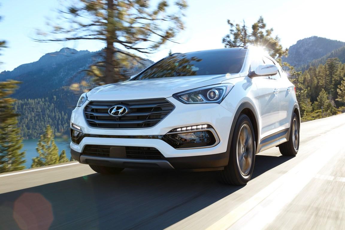 The 2017 Hyundai Santa Fe Sport (Hyundai)