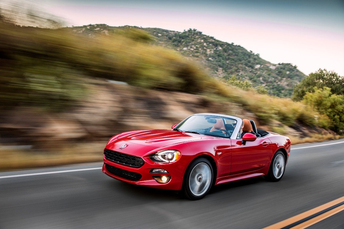 The 2017 Fiat 124 Spider Lusso (FCA)