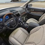 The 2016 Ford Explorer Platinum (Ford)