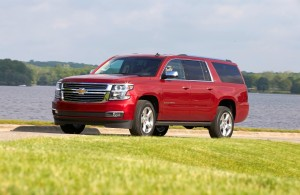 The 2016 Chevy Suburban (Chevy)