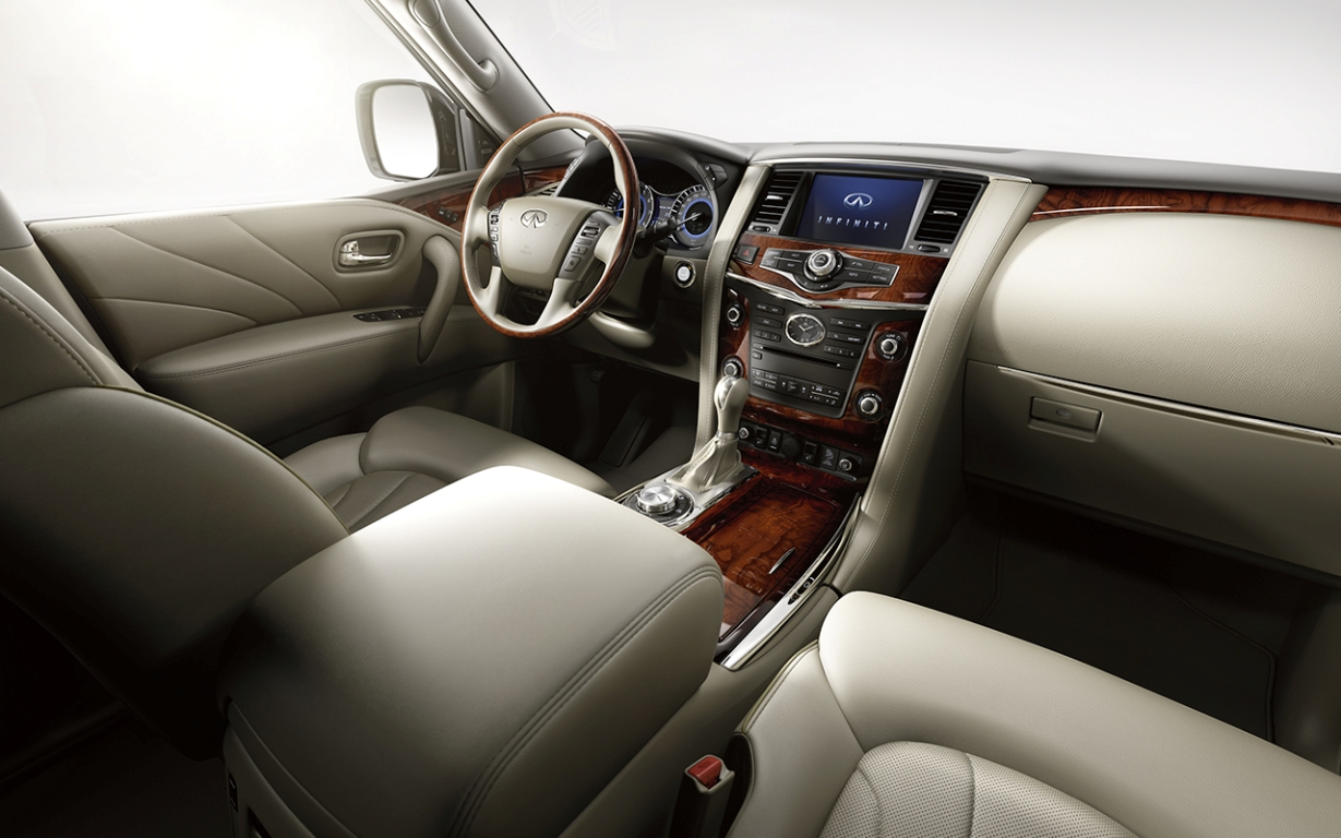 The 2016 Infiniti QX80 Limited