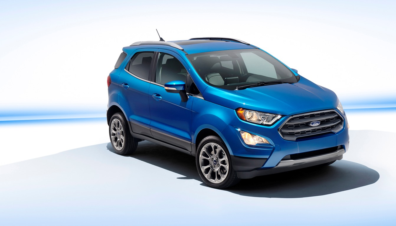 The 2018 Ford EcoSport will hit US showrooms in early 2018. (Ford)