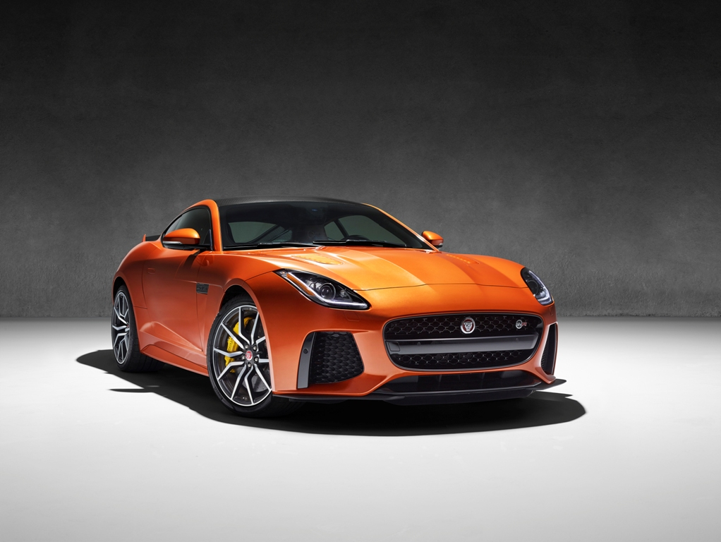 The 2017 Jaguar F-Type SVR (Jaguar)