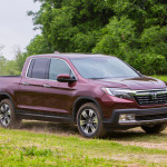 The 2017 Honda Ridgeline (Honda)