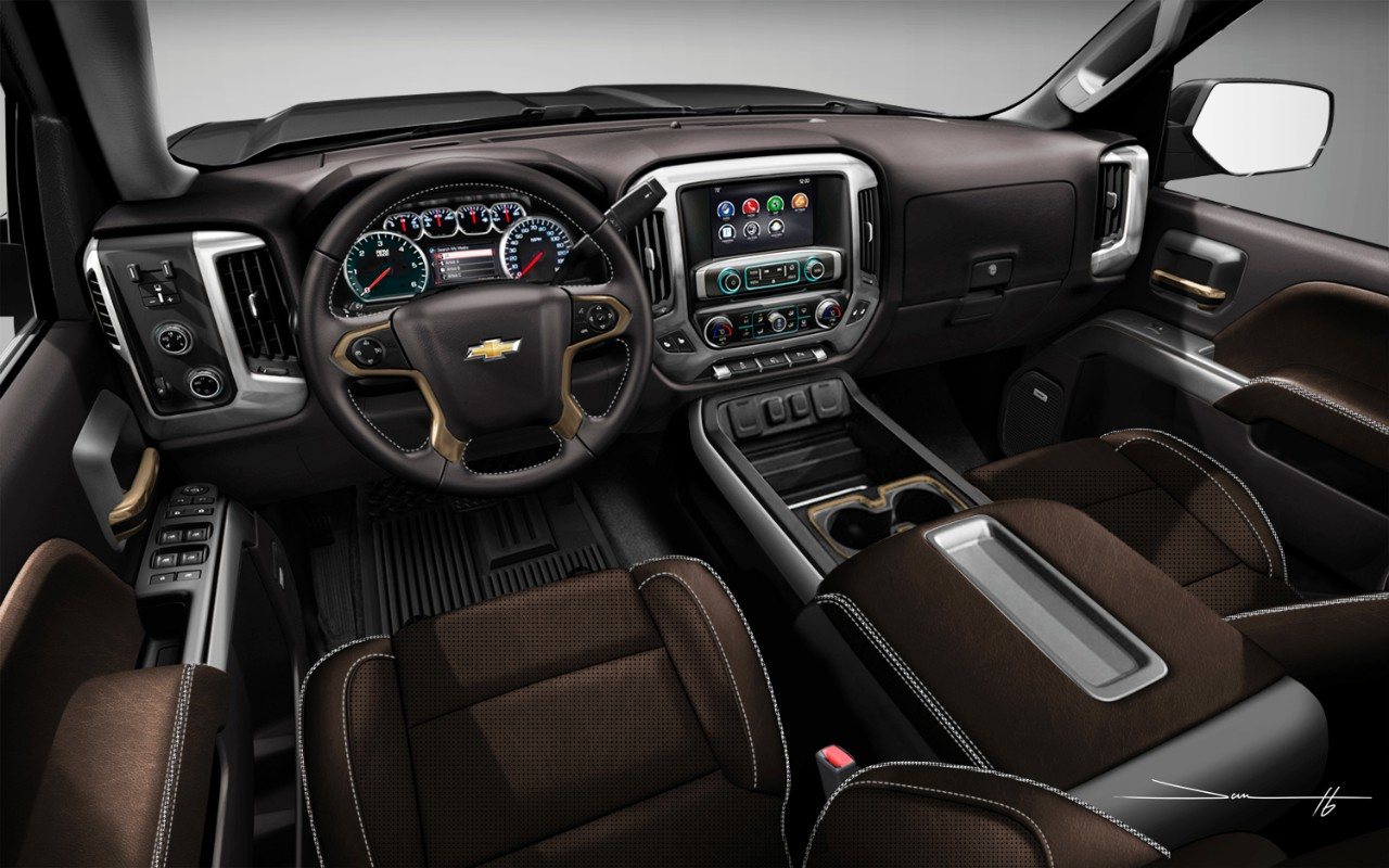 Review: The 2017 Chevrolet Silverado 2500 High Country is ...