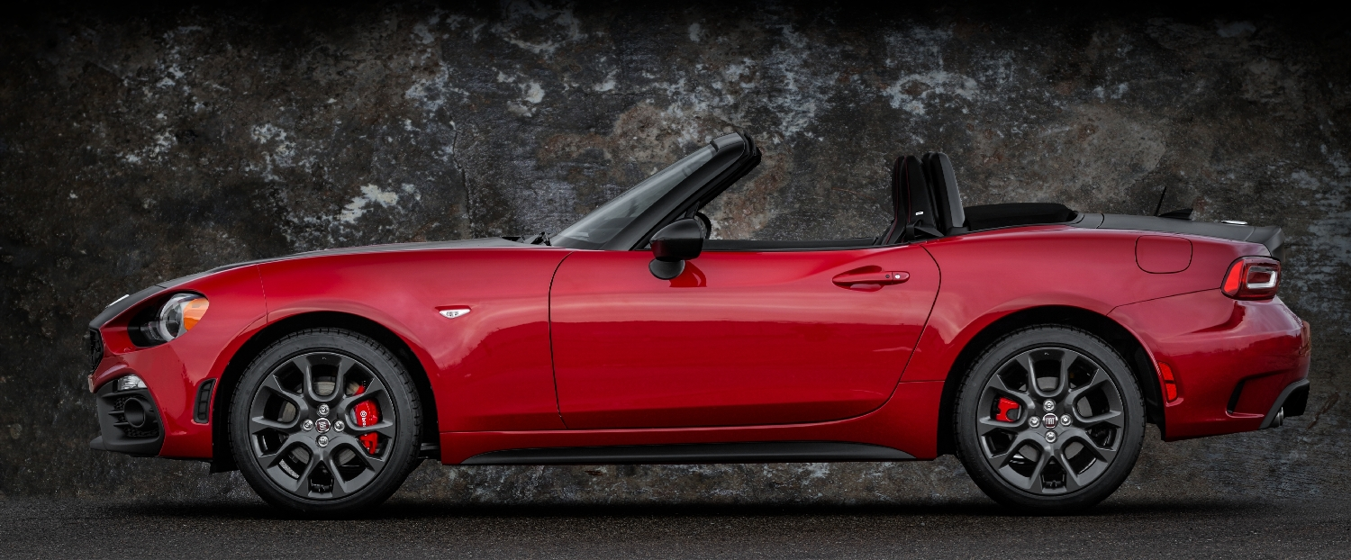 First Drive Review 2017 Fiat 124 Spider Abarth More Bark Bite Fca