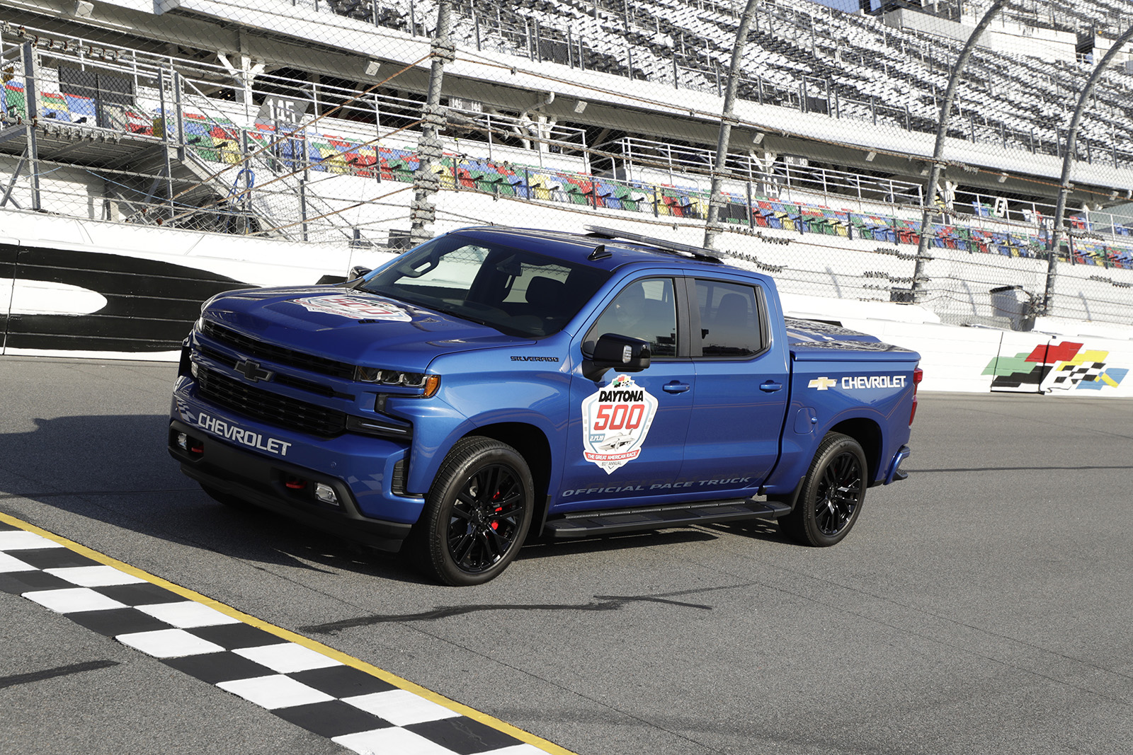 Silverado makes history as the first-ever truck to pace Daytona