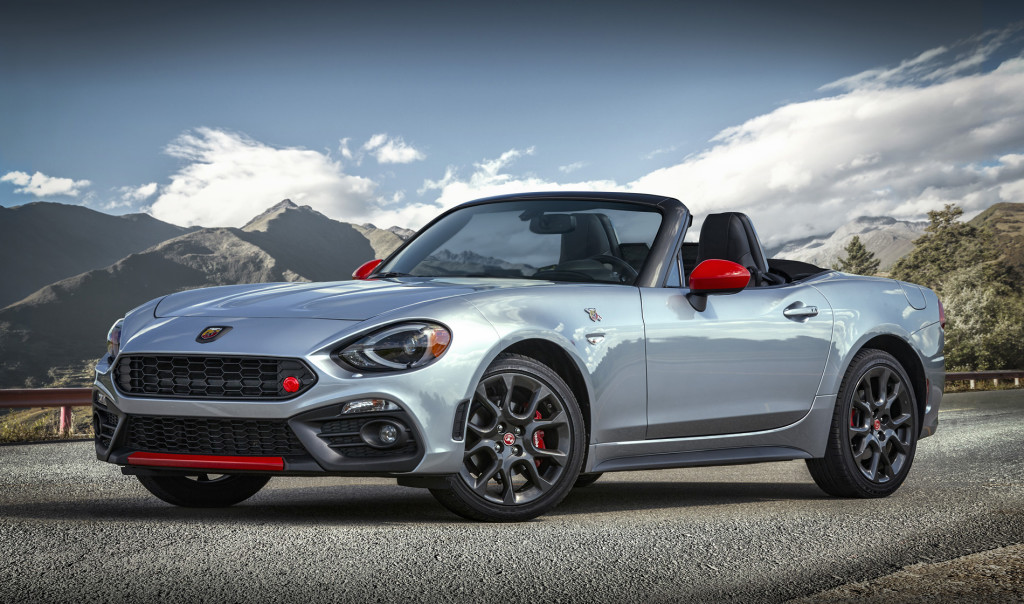 2020 Fiat 124 Spider Abarth with new Veleno Appearance Group and Record Monza Exhaust