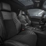 The race-inspired interior of the Dodge Charger SRT Hellcat Wide