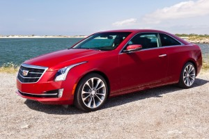 The 2015 Cadillac ATS Coupe. (GM)