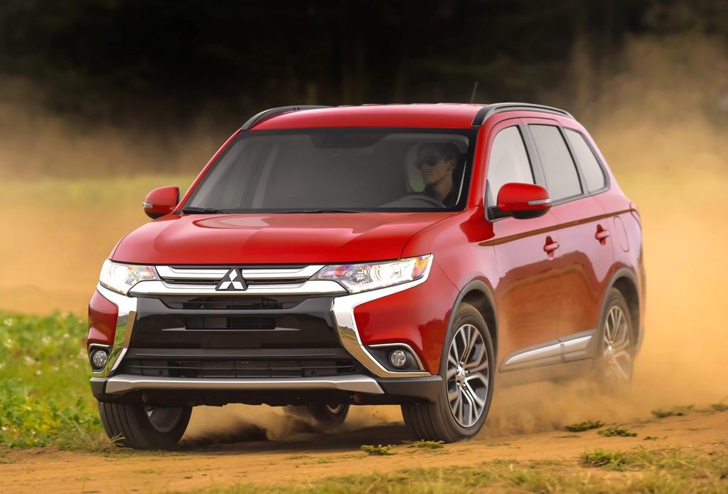 The 2016 Mitsubishi Outlander (Mitsubishi)