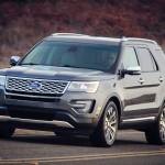 The 2016 Ford Explorer Platinum (Ford)
